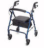 "Mobilis Walking Frame - Blue with 6"" Wheels"