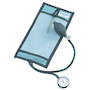 Metpak 1000 ml Latex Free, Reusable Pressure Infusion Bag